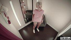 Teen blonde Ariel being...