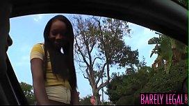 Ebony teen Monicka Jaymes...