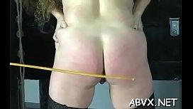 Teen obedient in bizarre bondage xxx hardcore action