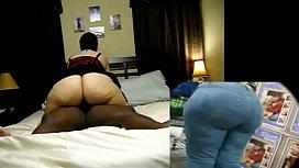 Big booty white girl...