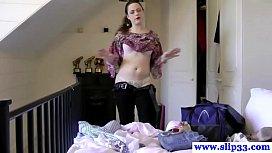 Hot glamour teen amateur...