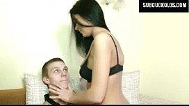 Russian wife cuckolds her...