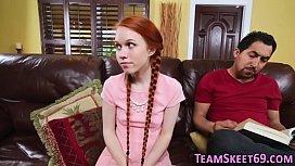 Petite redheaded teen...