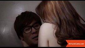 Innocent korean public sex...