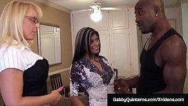 MexiMilf Gabby Quinteros &amp_ Alexis Golden Cum Swap BBC'_s Jizz