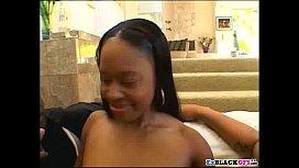 Black babe Dominique gets...