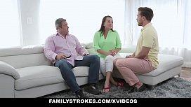 FamilyStrokes - Hot Teen Gets...