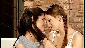 Lesbian juicy cum-hole