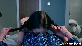 Horny teen Alessa fucked...