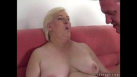 Fat grandma Cecilia fucked...