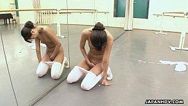 Asian ballerina has an itch she has to rub girlsdoporn e320