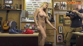 Huge boobs blonde fucked...