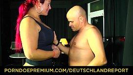 DEUTSCHLAND REPORT - Tattooed redhead...
