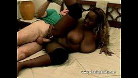 Big Titted Ebony Hottie...