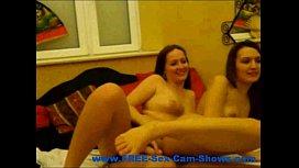 Horny Lesbian Fucking Her...