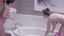 Rahyndee James and Lena...