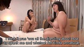 Subtitled Japanese bizarre BBW...