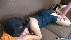 Slutty Thai whore gets...