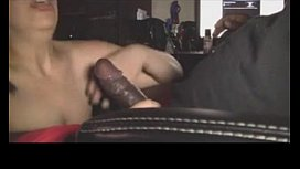 Mexican girl sucking black...
