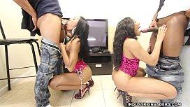 Jayla Foxx and Tila...