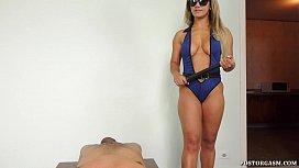 Officer Sonia Interrogation Handjob...