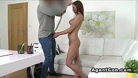 Busty amateur babe likes...