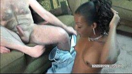 Ebony slut Anastasia is...