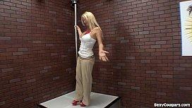 Hot Blonde Cougar Stripper...