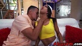 Ebony Teen Nicole Gets...