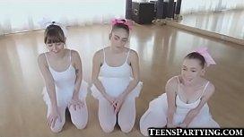 3 Teeny Ballerinas Share...