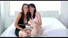 MyVeryFirstTime - Newbie pornstars Allora...