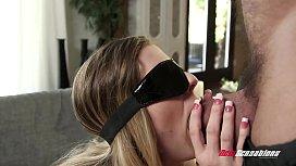 Hotwife Kendra Lynn Blindfolded...
