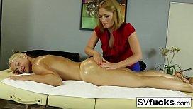 Sarah Vandella Lesbian Massage...