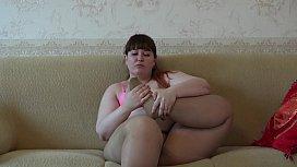 A fat girl in...