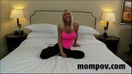 Hot blonde mature milf...