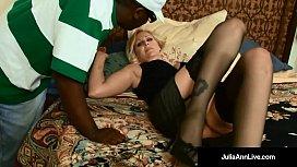 Busty Blonde Milf, Julia...