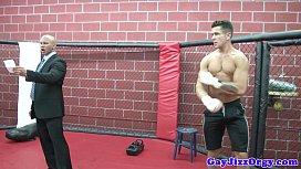 Gaysex hunks orgy fun...