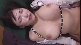 japanese big tits cumshot and fucking