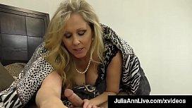 Cock Craving Cougar Julia...