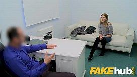 Fake Agent Skinny petite...