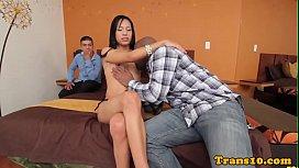 Latina tgirl ass pounded...
