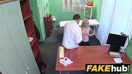 Fake Hospital Fit blonde...