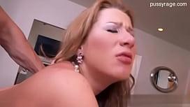 Cute pornstar sucking...