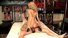 Godlike blonde Emily Kae loves working with big cock samantha janecki