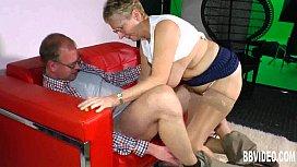 Mature german woman take...