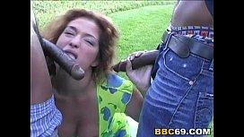 Busty Bellamaria brunette Gets...
