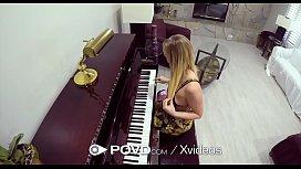 POVD Blonde Piano Student...