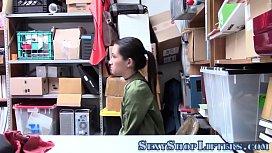 Teen shoplifter slammed...