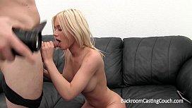 Big Tits Nursing Coed Anal and Creampie