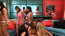 Lesbians orgy...